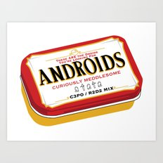 Androids Art Print