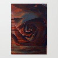 solidão Canvas Print