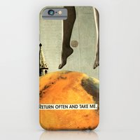 iPhone & iPod Case featuring return often and take me by cardboardcities