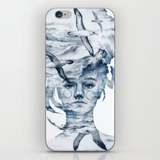 I am the sea and nobody owns me iPhone & iPod Skin