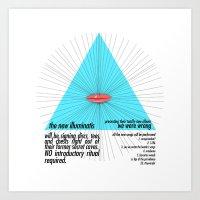 The New Illuminatis Art Print