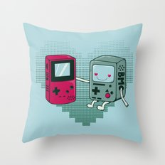 BMO IN LOVE Throw Pillow
