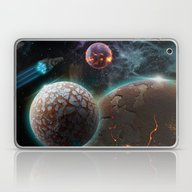 Deep Space Flare Laptop & iPad Skin