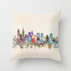 Philadelphia Pennsylvani… Throw Pillow