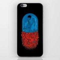 iPhone & iPod Skin featuring Capsule 41 by pigboom el crapo