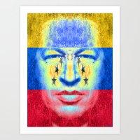 CHAVEZ Art Print