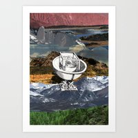 EXCHANGE Art Print