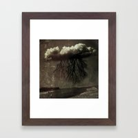 They Would Take Long Wal… Framed Art Print