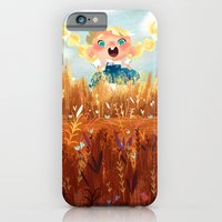 iPhone & iPod Case featuring In The Fields by Chopsticksroad.