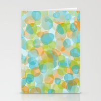 Pebbles Turquoise Stationery Cards
