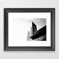 City Buildings Framed Art Print