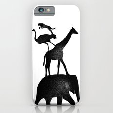 Animal Stack iPhone 6s Slim Case