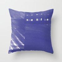 Karo Paint Throw Pillow
