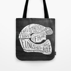 I Have Fought The Good F… Tote Bag