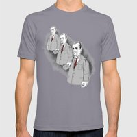 Puppets Mens Fitted Tee Slate SMALL