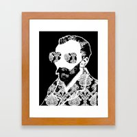 Vincent SW x7 Framed Art Print