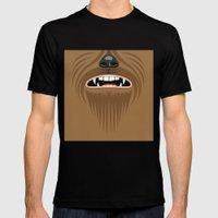 Chewbacca - Starwars Mens Fitted Tee Black SMALL