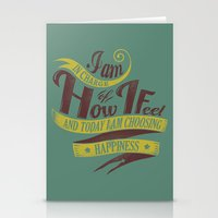 I Choose Happiness Stationery Cards