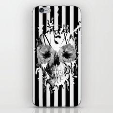 Limbo, Skull with poppy eyes iPhone & iPod Skin
