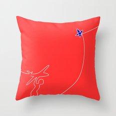 Fly higher Throw Pillow
