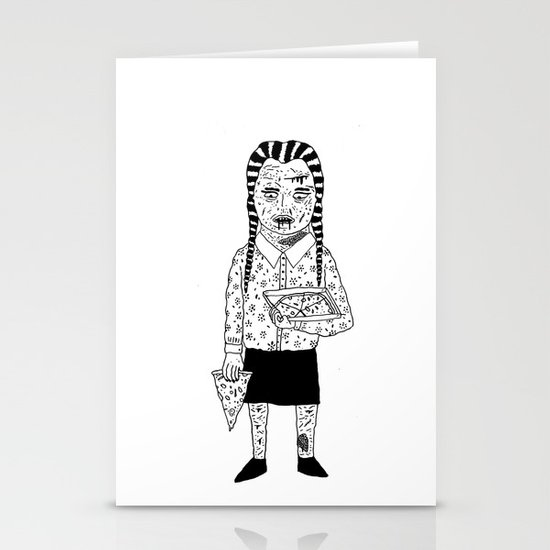 WEDNESDAY ADDAMS Stationery Card