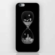 THE EVOLUTION OF THE WORLD b/w iPhone & iPod Skin