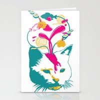 Liquid Thoughts:Cat Stationery Cards