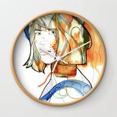 Portraits, Ann. Wall Clock