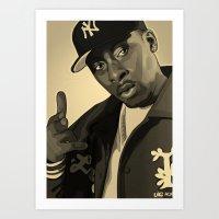 Pete Rock Art Print
