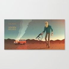 The Man with the Golden Beard Canvas Print