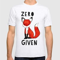 Zero Fox Given Mens Fitted Tee Ash Grey SMALL