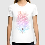 Reach Womens Fitted Tee White SMALL