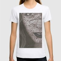 Face  Womens Fitted Tee Ash Grey SMALL