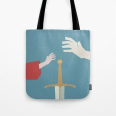 The Sword in the Stone - Walt Disney Minimal Movie Poster Tote Bag