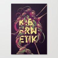 Kibernetik Canvas Print