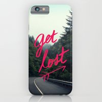 iPhone & iPod Case featuring Get Lost by Leah Flores