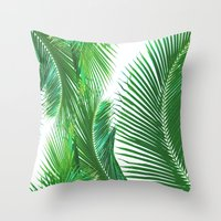 ARECALES II Throw Pillow