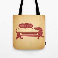 Dog's Delight Tote Bag