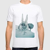 Another Bunny Mens Fitted Tee Ash Grey SMALL