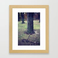 Unchain my Roots Framed Art Print