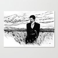 Jesse James Canvas Print
