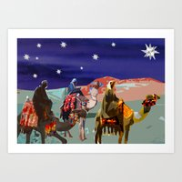 The Three Kings  Art Print