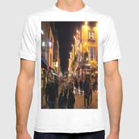 Temple Bar Mens Fitted Tee White SMALL
