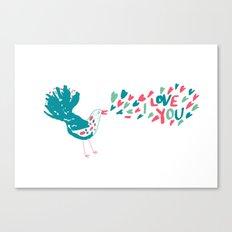 Birdy Song Canvas Print