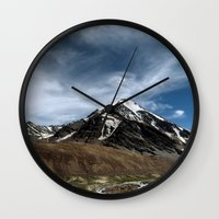 Majesty...the Mountain..! Wall Clock
