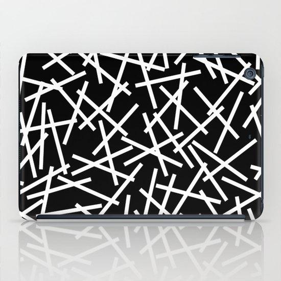 Kerplunk Black and White iPad Case