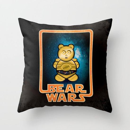 Bear Wars - G3PU Throw Pillow