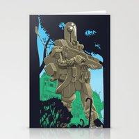 Robotic Warfighter MK.5D… Stationery Cards