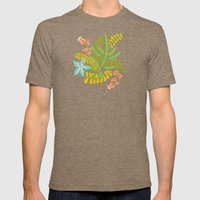 Sedona Mens Fitted Tee Tri-Coffee SMALL