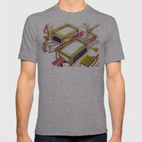 Matchbox Mens Fitted Tee Athletic Grey SMALL